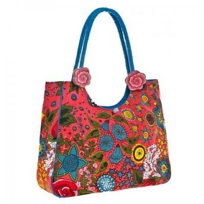 пляжная сумка с орнаментом