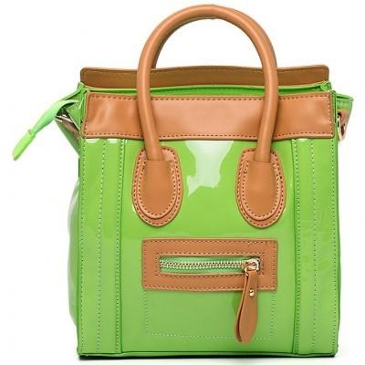 стильная салатовая сумка 2