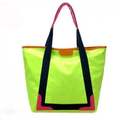 сумка неонового цвета