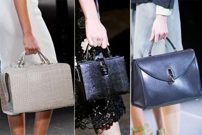 Геометрические формы в дизайне сумок и коробочные сумки
