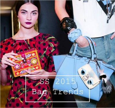 тенденции дамских сумочек весенне-летнего сезона 2015