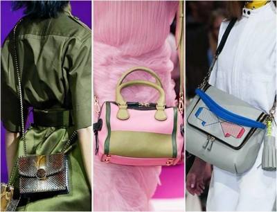 Модные  сумки через плечо