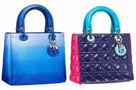 фиолетовая сумка диор модная 2015