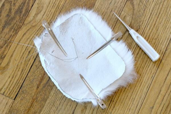 Сшить сумку из меха своими руками