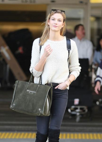 Сумки знаменитостей недели моды 2015 в Лондоне