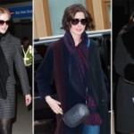 Подборка сумок знаменитостей включает сумки фирм Louis Vuitton, Saint Lauren и Marni