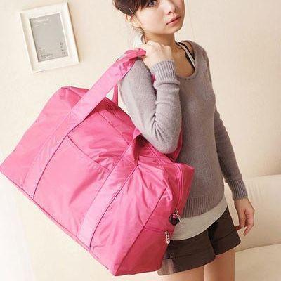 Индия-кожа-большая-емкость-дорожная-сумка-2012-новый-корейский-нейлон-ручной-клади-мешок-мода-фитнес-спортивная