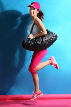 спорт сумка тренажерка девушка