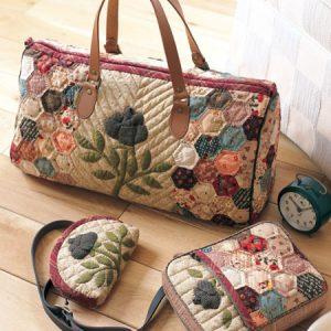 сумка и косметичка в одном стиле
