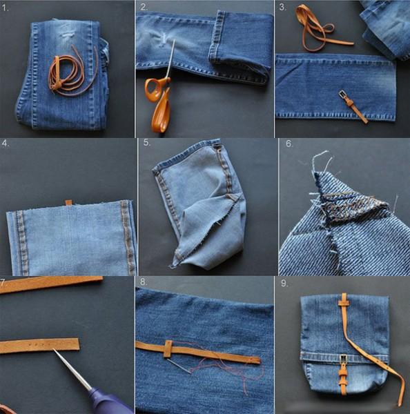 процесс изготовления сумки