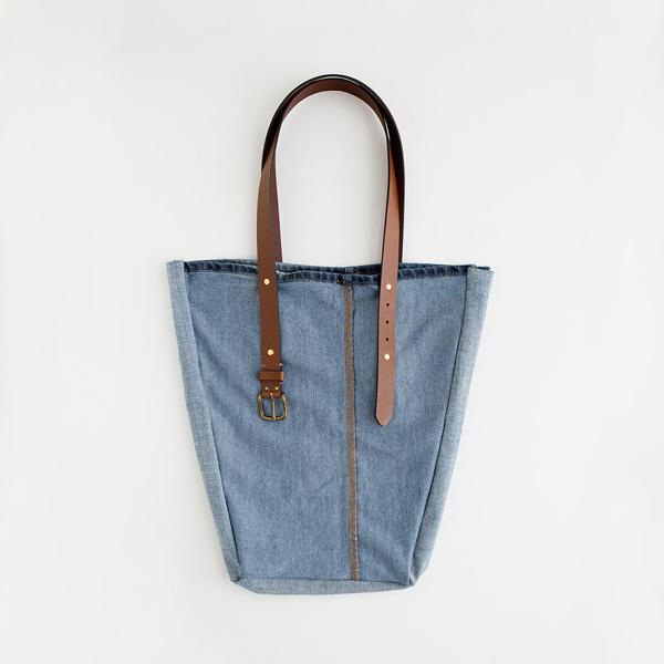 сумка на плечо из джинс