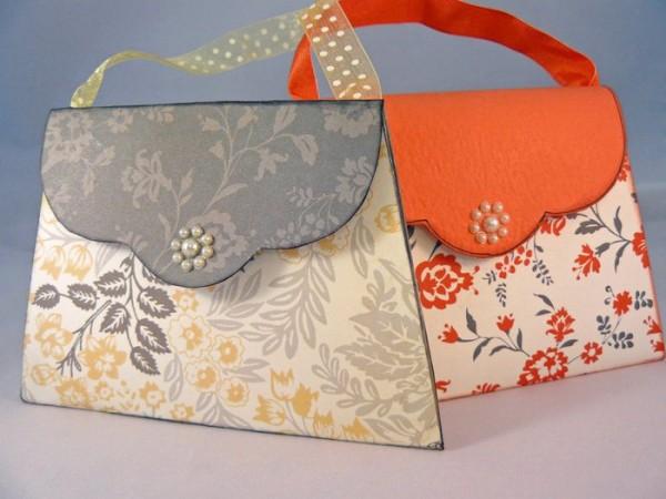 сумки из картона