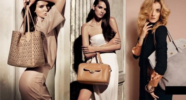 красотки с сумками