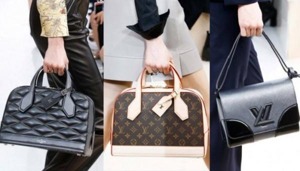 сумки в руках