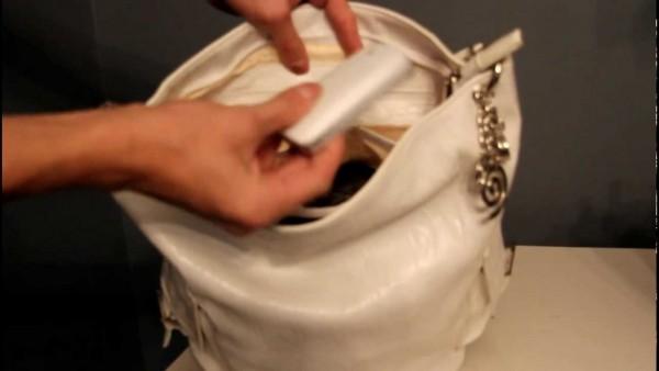 проверяем сумочку