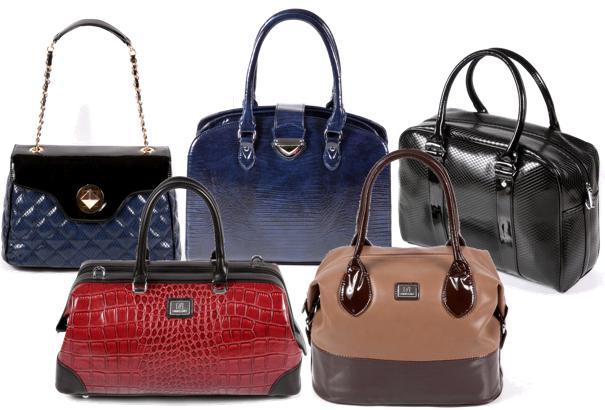 много женских сумок