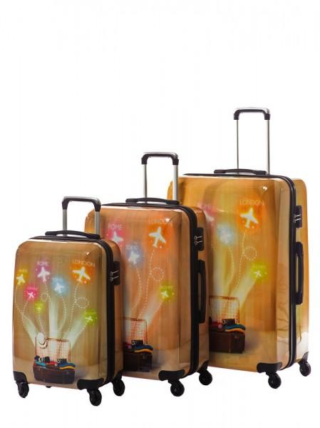 Красивые большие чемоданы