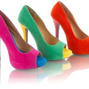 туфли модного цвета